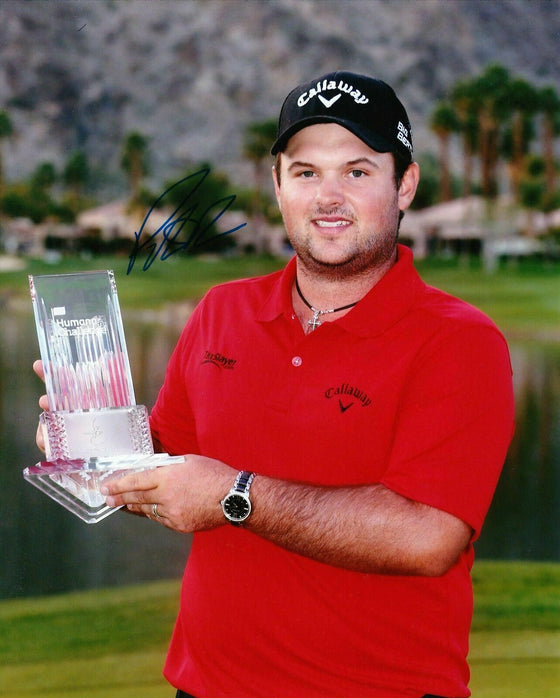 Patrick Reed Signed 10X8 Photo 2014 RYDER CUP HERO AFTAL COA (3063)