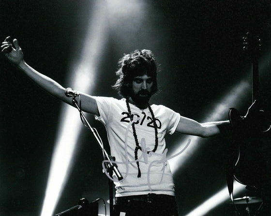 Sergio Pizzorno Signed 10X8 Photo KASABIAN AFTAL COA (A2)