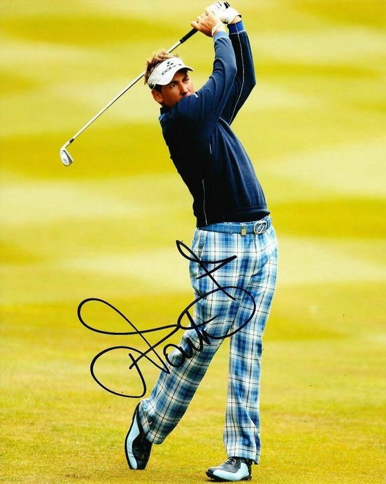 Ian Poulter Signed 10X8 Photo Ryder Cup Legend AFTAL COA (3071)