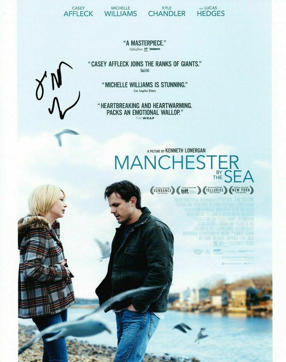 Kenneth Lonergan *SIGNED* 10X8 Photo Manchester by the Sea AFTAL COA (7466)