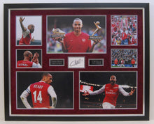 Thierry Henry GENUINE HAND SIGNED Arsenal DISPLAY VERY RARE