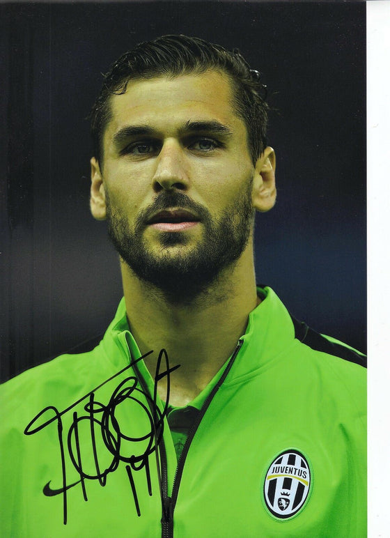 Fernando Llorente Genuine Hand SIgned Juventus 12X8 Photo (1829)