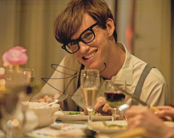 Eddie Redmayne Signed 10X8 The Theory of Everything Genuine AFTAL COA (5186)