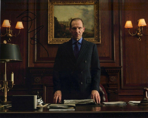 Ralph Fiennes Signed 10X8 Photo SPECTRE AFTAL COA (5195)