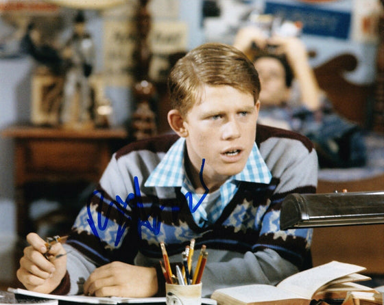 Ron Howard Signed 10X8 Photo HAPPY DAYS Genuine Signature AFTAL COA (7531)