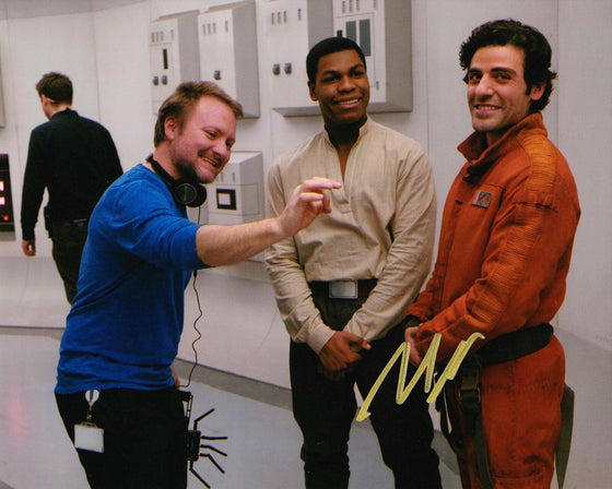 Rian Johnson Signed 10X8 Photo Star Wars: The Last Jedi AFTAL COA (5508)