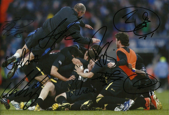 Wigan Athletic SIGNED 12X8 Photo FA Cup Final Signed By 9 AFTAL COA (1657)