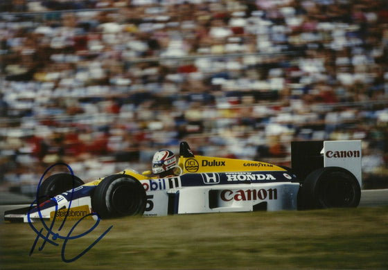 Nigel Mansell Signed 10X8 Photo Genuine Autograph AFTAL COA (3553)