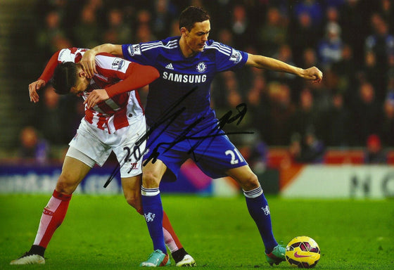Nemanja Matic Signed 12X8 Photo Chelsea FC Genuine AFTAL COA (1649)