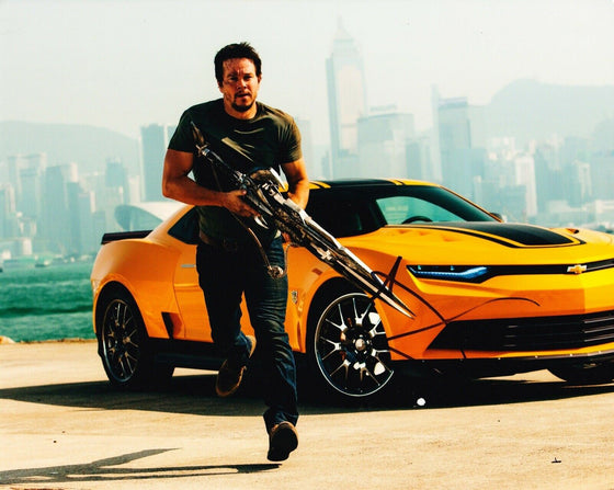 Mark Wahlberg Signed 10X8 Photo Transformers AFTAL COA (A)
