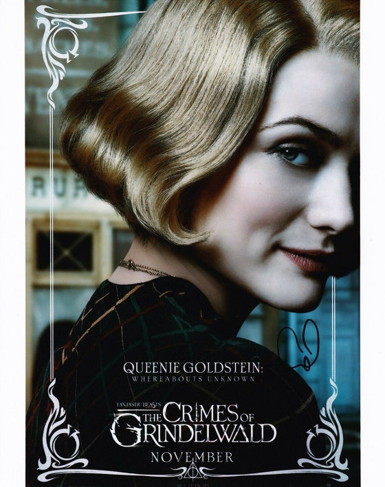 Alison Sudol Signed 10X8 Photo Fantastic Beasts AFTAL COA (7309)