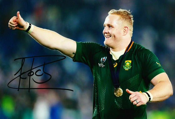Vincent Koch Signed 12X8 Photo SPRINGBOKS South Africa AFTAL COA (A)