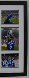 Wes Morgan Signed & Framed Shirt Leicester City F.C. WITH EXACT PROOF AFTAL COA
