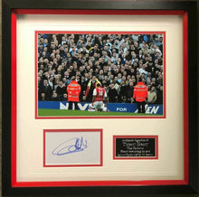 Thierry Henry SIGNED & Mounted Arsenal FC Photo MOUNT DISPLAY AFTAL COA