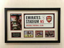 Pierre-Emerick Aubameyang SIGNED & FRAMED Arsenal F.C. Street Sign AFTAL COA (A)