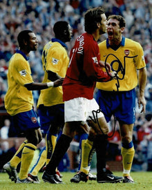Martin KEOWN 10X8 SIGNED Photo Arsenal Legend Genuine AFTAL COA (1141)