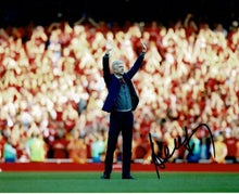 Arsene Wenger Signed 10X8 Arsenal F.C. PHOTO Autograph AFTAL COA (I)