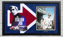 Michael Caine Signed & FRAMED PHOTO MOUNT DISPLAY THE ITALIAN JOB AFTAL COA