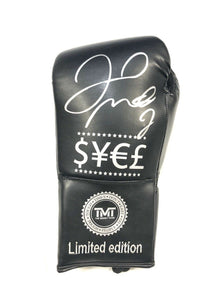 Floyd Mayweather Signed Boxing GLOVE With Proof AFTAL COA (A)