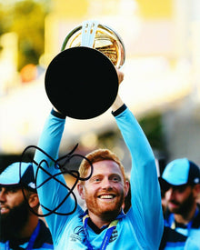 Jonny Bairstow Signed 10X8 Photo England CRICKET WORLD CUP 2019 AFTAL COA (2554)
