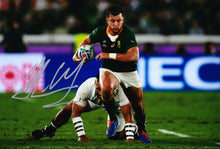 Handre Pollard Signed 12X8 Photo 2019 Rugby World Cup South Africa AFTAL COA (F)