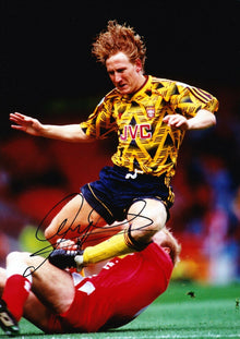 Ray Parlour Signed 12X8 Photo Arsenal Genuine AFTAL COA (9079)