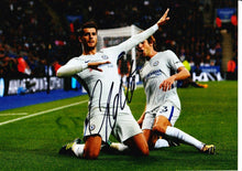 Alvaro Morata Signed 12X8 Photo Chelsea F.C. Genuine Signature AFTAL COA (1812)