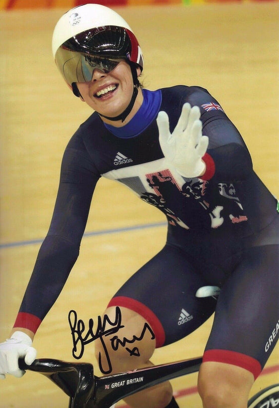 "Rebecca ""Becky"" James GENUINE Hand Signed 12X8 Photo OLYMPICS RIO 2016 (C)"