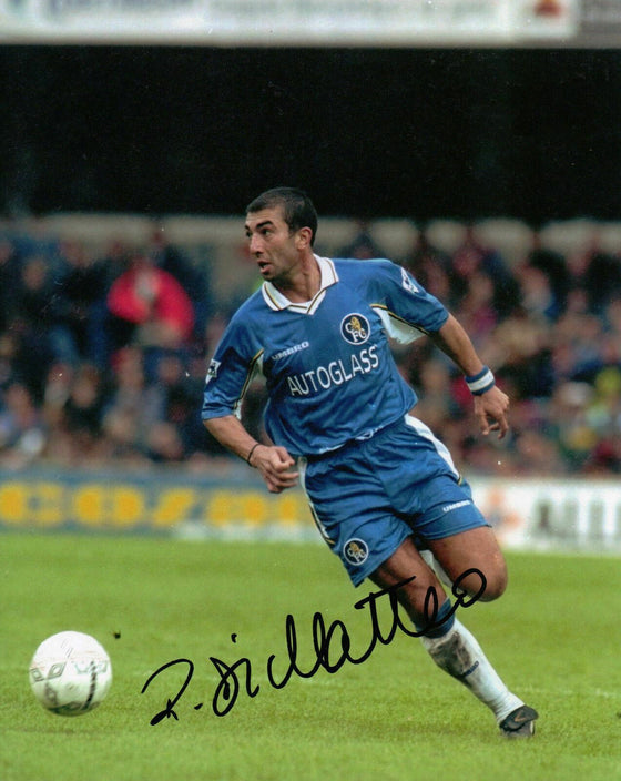 Roberto Di Matteo Genuine Signed 10X8 Photo Chelsea FC AFTAL COA (1127)