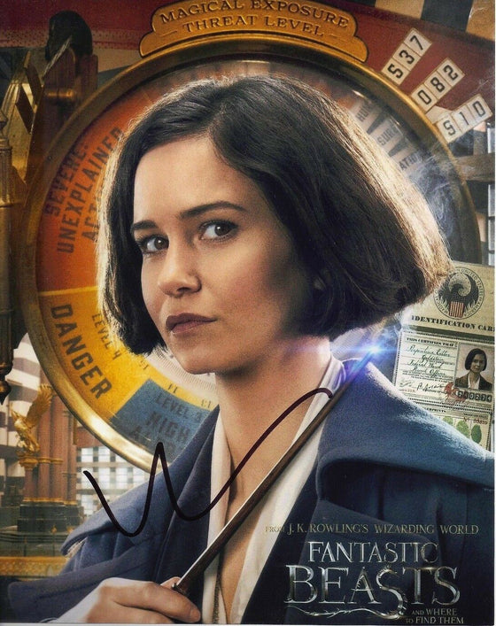 Katherine Waterston Signed 10X8 Photo Fantastic Beasts GENUINE AFTAL COA (5143)