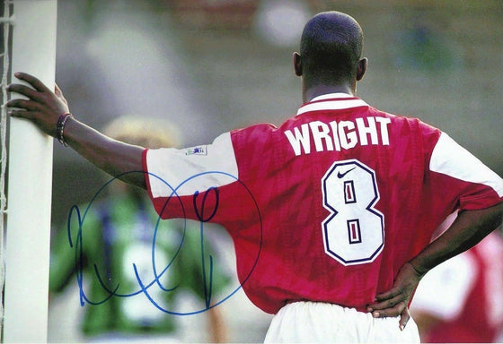 Ian Wright Signed 12X8 Photo Arsenal F.C. Genuine Signature AFTAL COA (1755)