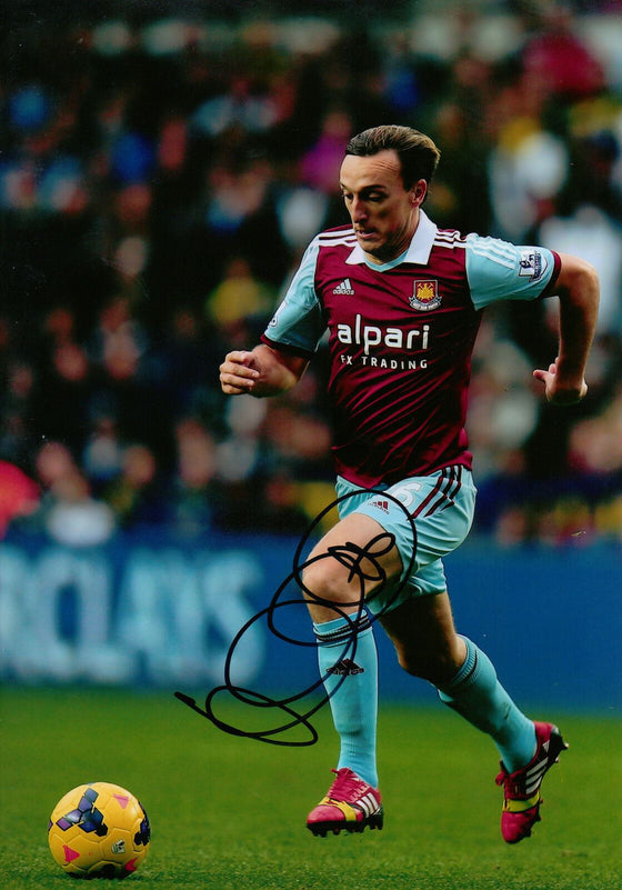 Mark Noble Genuine Hand Signed 12x8 Photo West Ham United (1892)