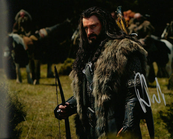 Richard Armitage Genuine Hand Signed 10X8 Photo The Hobbit (5640)