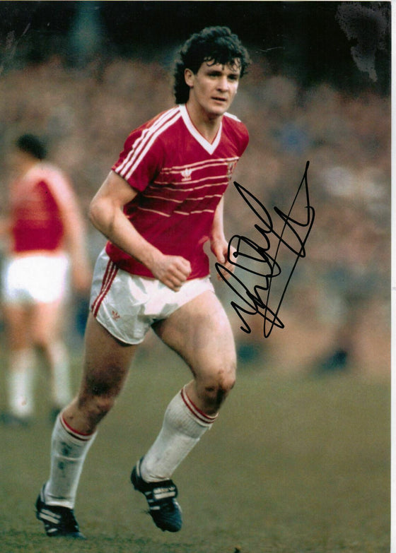 Mark Hughes Original Signed Autograph 12x8 Photo Manchester United (1805)