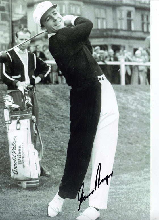 Gary Player Genuine Hand Signed 12X8 Photo Golf Legend (3117)