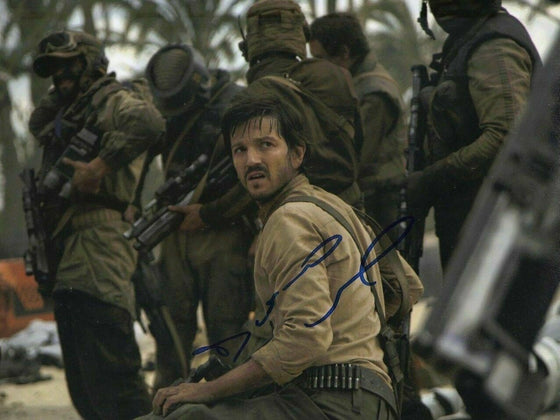 Diego Luna Signed 10X8 Photo Rogue One: A STAR WARS Story AFTAL COA (5623)