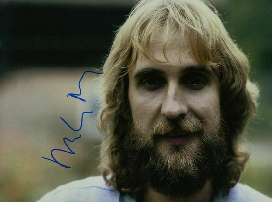 Mike Rutherford Genuine Hand Signed 12x8 Photo Genesis
