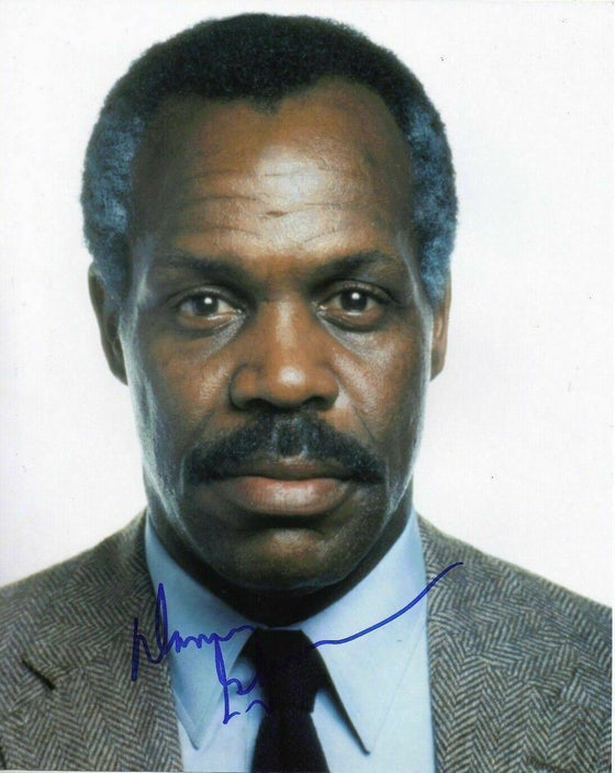 Danny Glover SIGNED 10X8 Photo Lethal Weapon AFTAL COA (7323)
