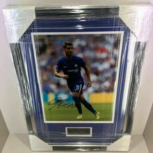 Alvaro Morata Signed 11X14 Framed Photo CHELSEA FC AFTAL COA (A)