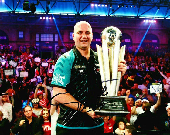 Rob Cross Signed 10X8 Photo VOLTAGE Darts Autographed Memorabilia AFTAL COA (E)
