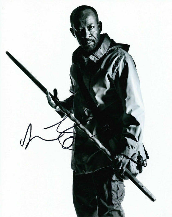 Lennie James Signed 10X8 Photo Walking Dead AFTAL COA (7432)