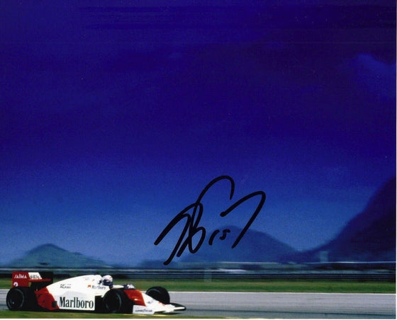 Alain Prost Signed 10X8 Photo Genuine Signature AFTAL COA (3530)