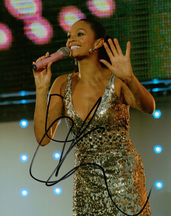 Alesha Dixon Genuine Hand Signed 10x8 Photo