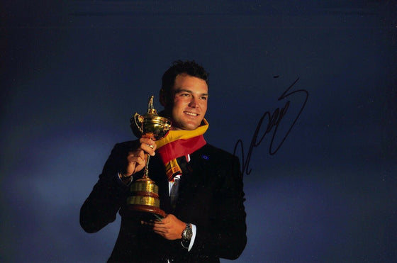 Martin Kaymer Genuine Hand Signed 12X8 Photo Ryder Cup 2014 AFTAL COA (3130)