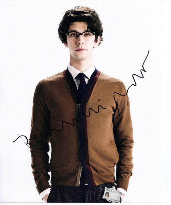 BEN WHISHAW SIGNED 10X8 PHOTO Q SKYFALL JAMES BOND 007 AFTAL COA (5160)