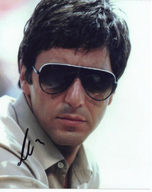 Al Pacino Genuine Hand Signed 10x8 In Person Autograph SCARFACE (5154)