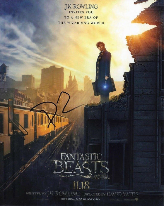 David Yates Signed 10X8 Photo Fantastic Beasts & Where to Find Them COA (5177)