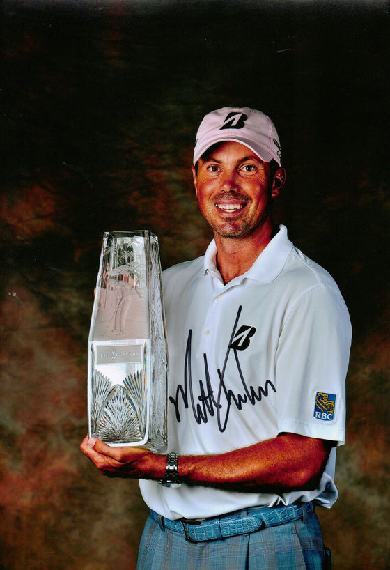Matt Kuchar Genuine Hand Signed 12X8 Photo (3100)
