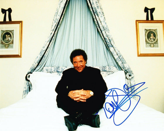 Tom JONES SIGNED 10X8 Photo Genuine Signature AFTAL COA (A3)