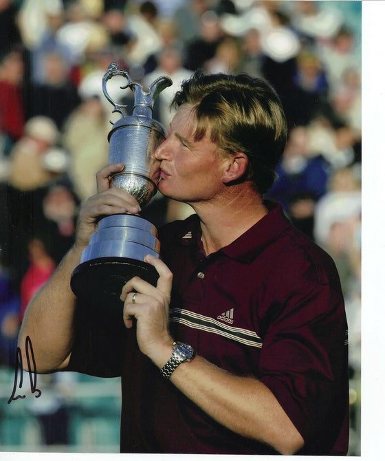 Ernie Els Signed 10X8 Photo Open Championship 2002 AFTAL COA (3006)